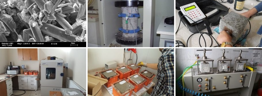 İnşaat Mühendisliği Laboratuvarları